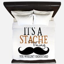 It's A Stache Thing King Duvet