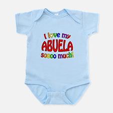 I love my ABUELA soooo much! Infant Bodysuit