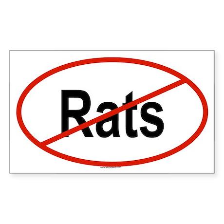 RATS Oval Sticker