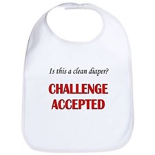 Is this a clean diaper? CHALLENGE ACCEPTED Bib
