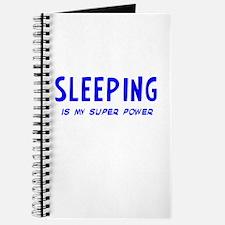 Super Power: Sleeping Journal