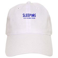 Super Power: Sleeping Baseball Cap