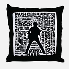 All About The Music 1 Throw Pillow