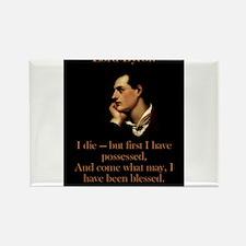 I Die - Lord Byron Magnets
