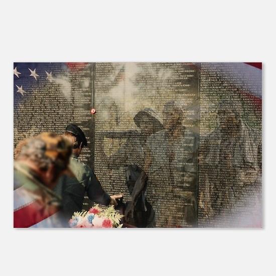 Vietnam Veterans' Memorial Postcards (Package of 8