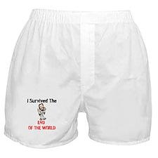 End of The World Survivor Boxer Shorts