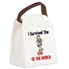 End of The World Survivor Canvas Lunch Bag