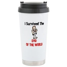 End of The World Survivor Travel Mug