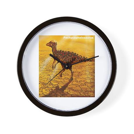 Pachycephalosaurus Dinosaur Wall Clock