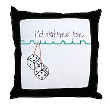Rather Be Cruisin' Throw Pillow