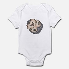 Cute Little Hedgehog Infant Bodysuit