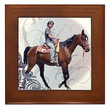 Ride! Framed Tile