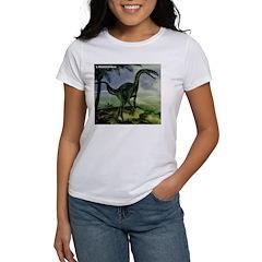 Lilliensternus Dinosaur (Front) Women's T-Shirt