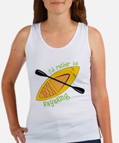 Kayaking Women's Tank Top
