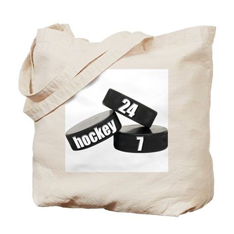 24/7 Hockey Tote Bag
