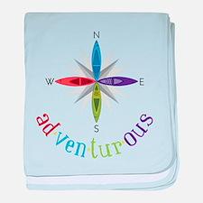 Adventurous baby blanket