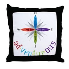 Adventurous Throw Pillow