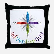 Adventurous Throw Pillow
