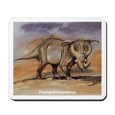 Pachyrhinosaurus Dinosaur Mousepad