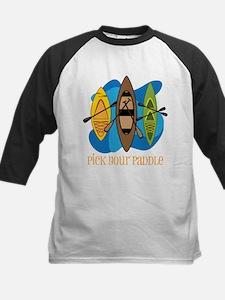 Pick Your Paddle Kids Baseball Jersey