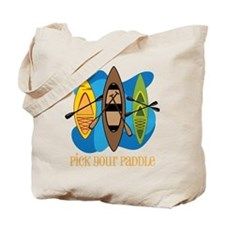 Pick Your Paddle Tote Bag