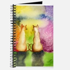 Watercolor Kitties Journal