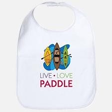 Live Love Paddle Bib