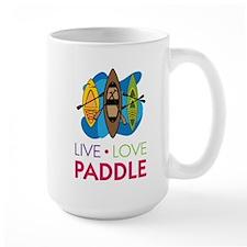 Live Love Paddle Mug