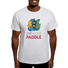 Live Love Paddle T-Shirt