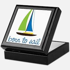Born To Sail Keepsake Box