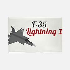 F-35 Lightning II Rectangle Magnet