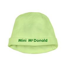 Mini-McDonald baby hat