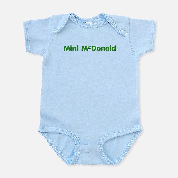 Mini-McDonald Infant Bodysuit