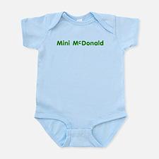 Mini-McDonald Onesie