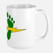 Green Feet - PJ Large Mug