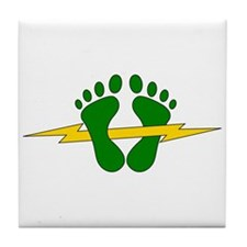 Green Feet - PJ Tile Coaster