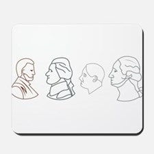 Coin Heads Mousepad