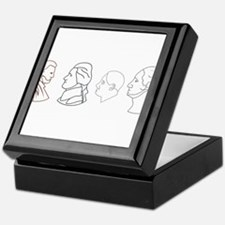 Coin Heads Keepsake Box