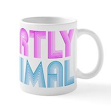 Partly anima party animal. Mug