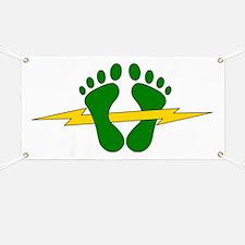 Green Feet - PJ Banner