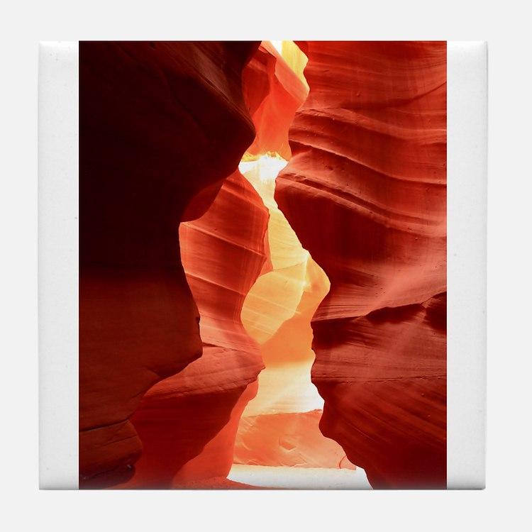 antelope Canyon Tile Coaster