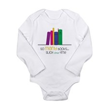 So Many Books Baby Outfits