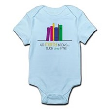 So Many Books Infant Bodysuit
