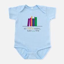 So Many Books Infant Bodysuit