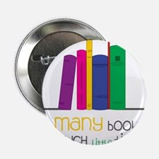 "So Many Books 2.25"" Button"