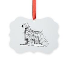 American Cocker Spaniel Ornament