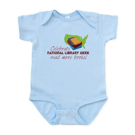 Library Week Infant Bodysuit