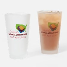 Library Week Drinking Glass