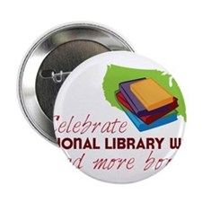 """Library Week 2.25"""" Button"""