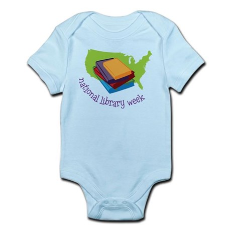 National Library Week Infant Bodysuit